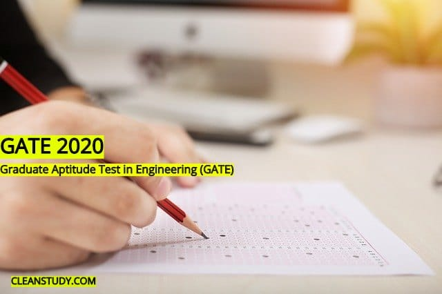 gate 2020 admit card download