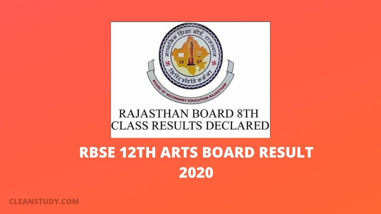 rbse 12th arts result